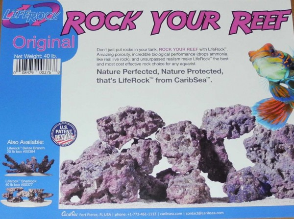 CaribSea Life Rock BOX 18,14 kg